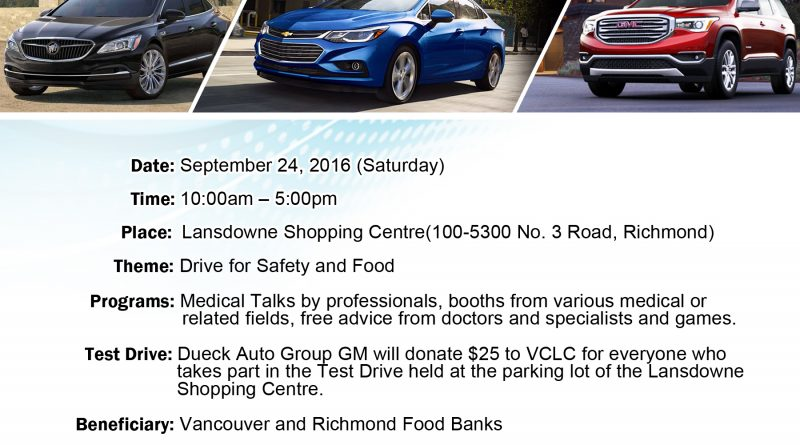 Drive for Safety and Food 2016 Poster