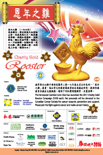 Charity Gold Rooster 2017